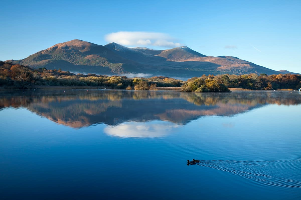 Lough Leane, Killarney National Park, County Kerry, Ireland.