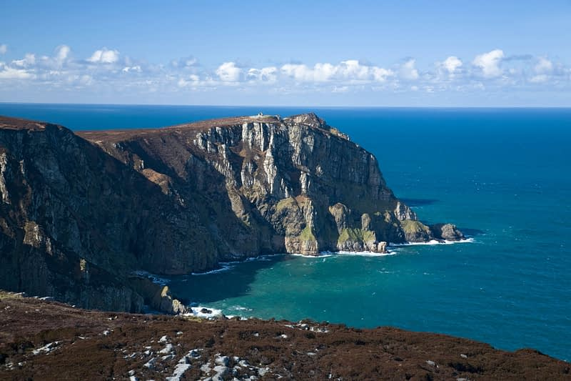 The cliffs of Horn Head, Co Donegal, Ireland.