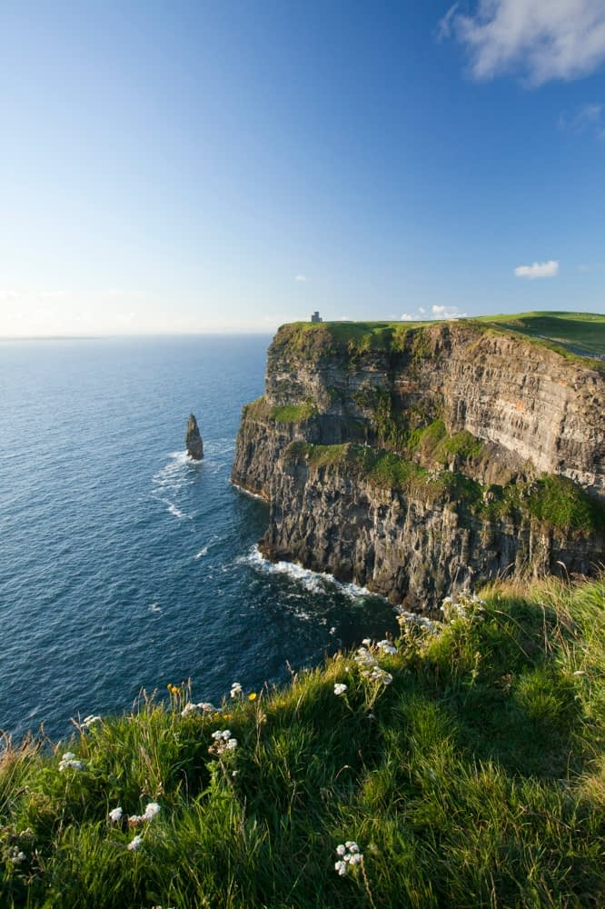 The Cliffs of Moher, Co Clare, Ireland.