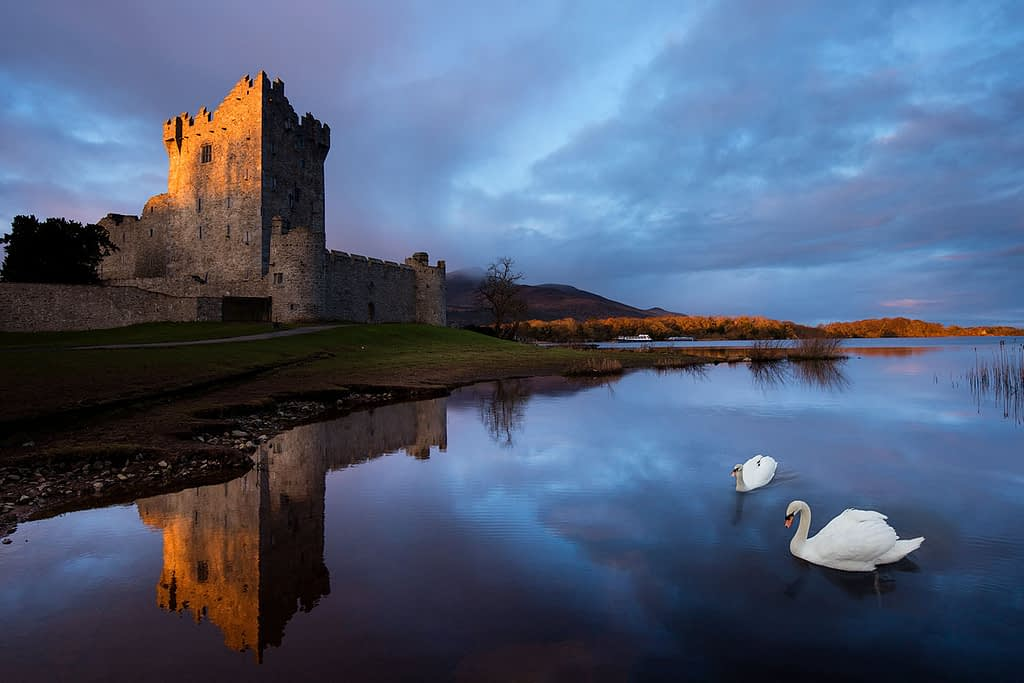 Ross Castle is a prime location on our Irish photography holiday and vacation