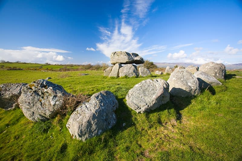 Carrowmore megalithic tomb, Co Sligo, Ireland.