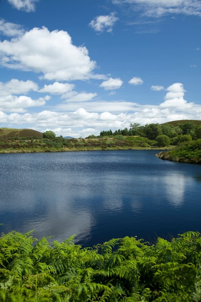 Gortin Lakes, Co Tyrone, Northern Ireland.