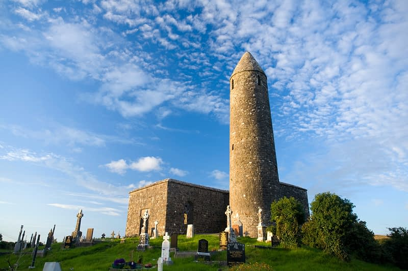 Turlough Round Tower, Co Mayo, Ireland