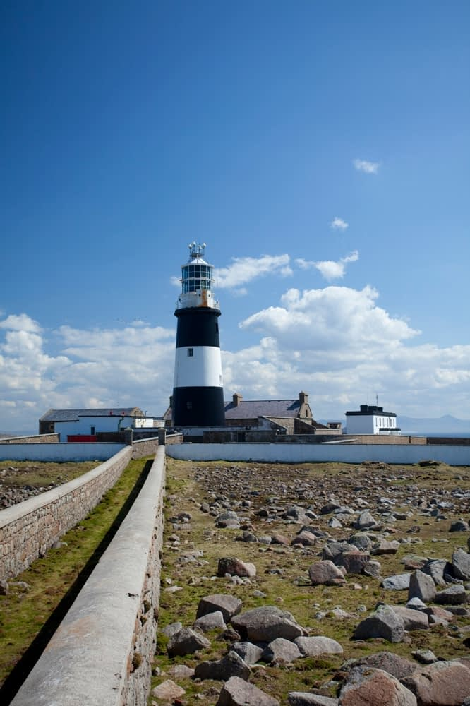 West Lighthouse, Tory Island, Co Donegal, Ireland.