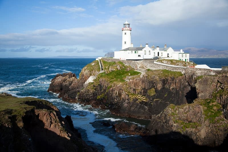 Fanad Head lighthouse, Co Donegal, Ireland.