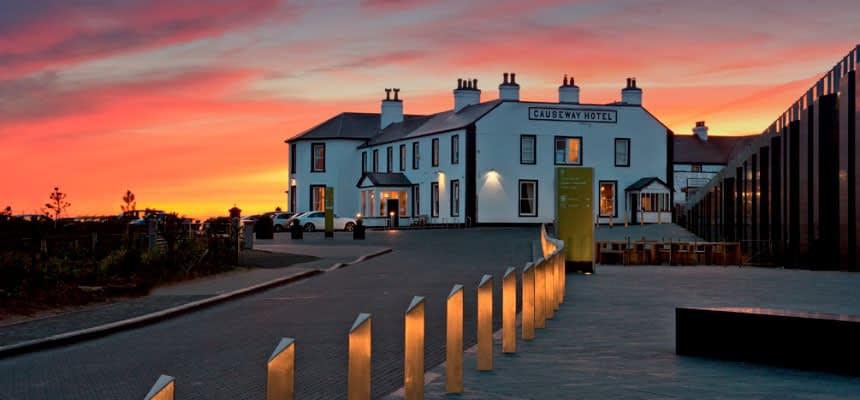We stay in the Causeway Hotel on our Northern Ireland photography holiday