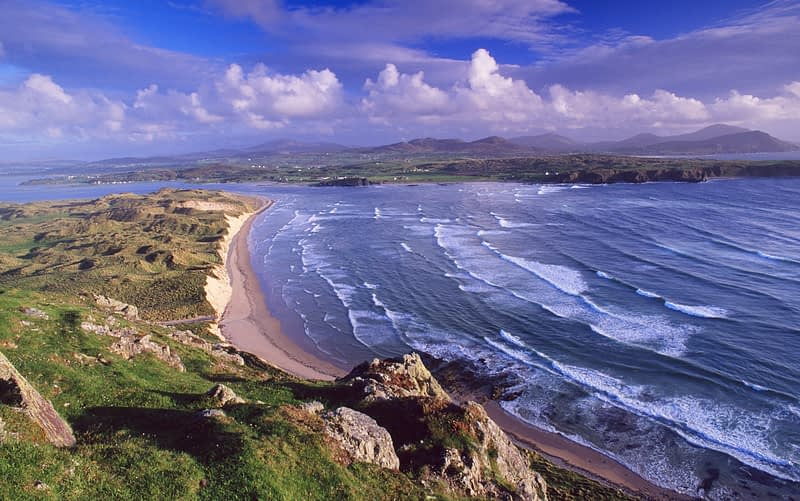 Trawbreaga Bay, Inishowen Peninsula, Co Donegal, Ireland.