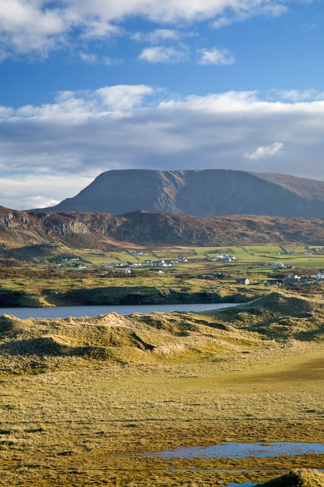 View of Muckish Mountain from Horn Head, Co Donegal, Ireland.
