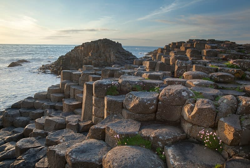 The Giant's Causeway, Causeway Coast, County Antrim, Northern Ireland.