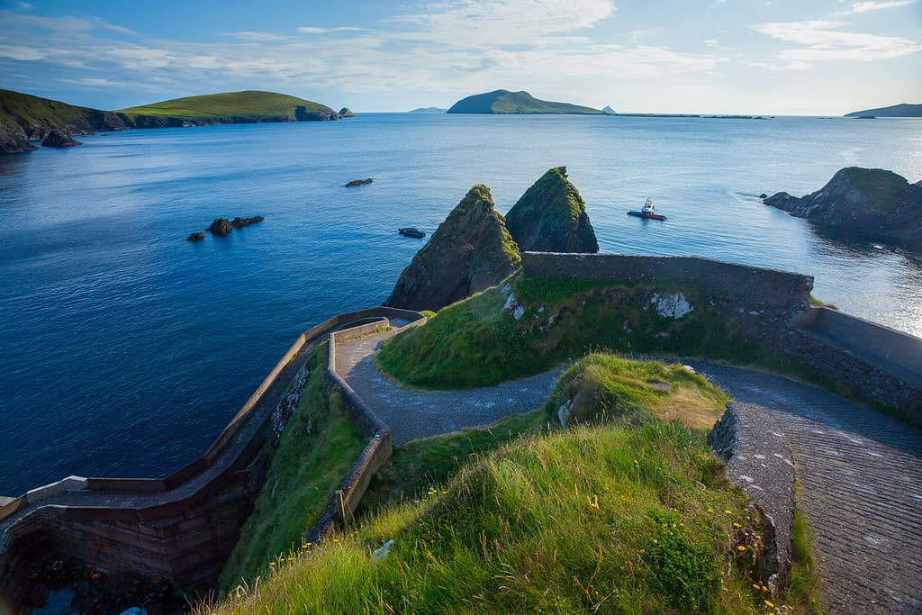 On our Ireland photography holidays we visit Dunquin harbour, in Kerry