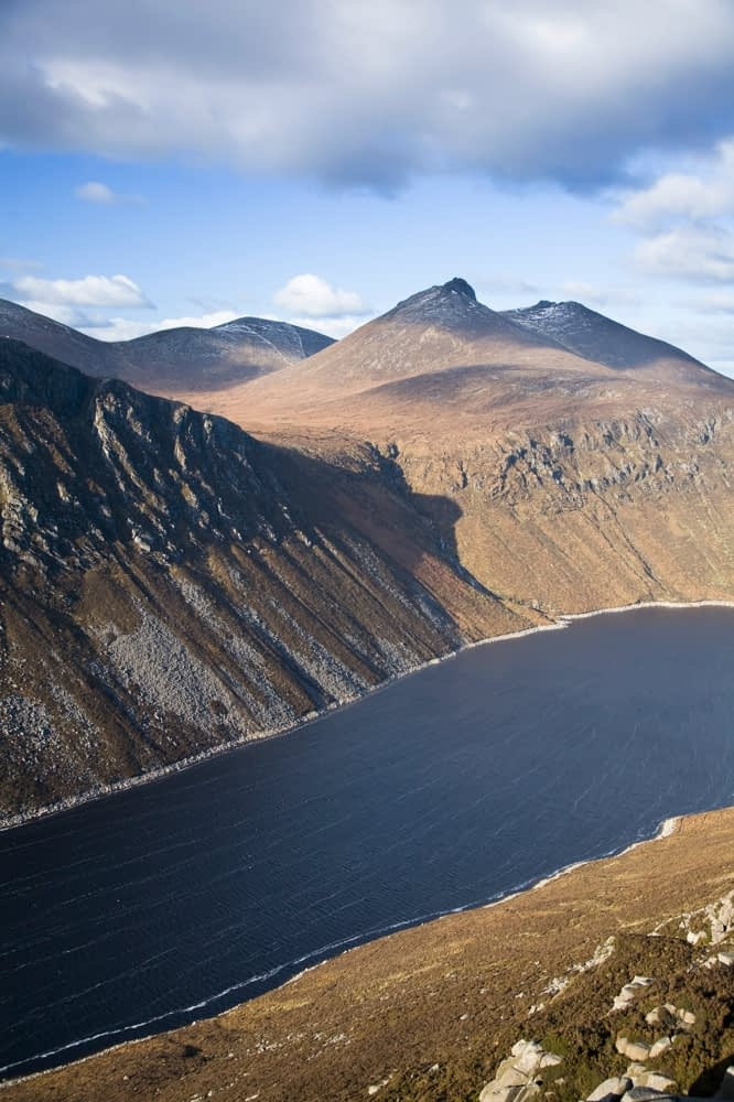 The Silent Valley Reservoir, Mourne Mountains, Co Down, Northern Ireland.