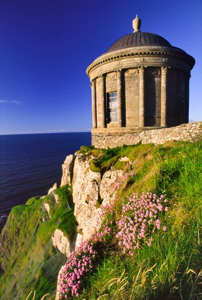 Mussenden Temple, Castlerock, Co Derry, Ireland.