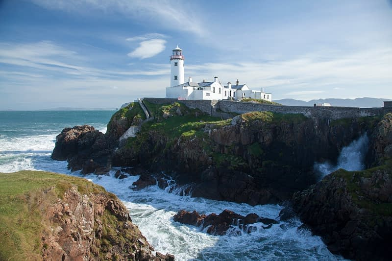 Fanad Head Lighthouse, Fanad Head, County Donegal, Ireland.