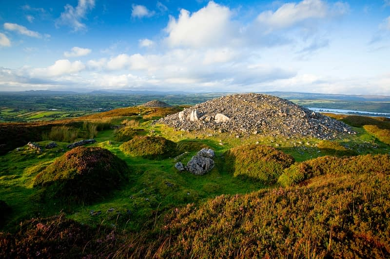 Carrowkeel Passage Tombs, 3200-2400 BC, Co Sligo, Ireland.