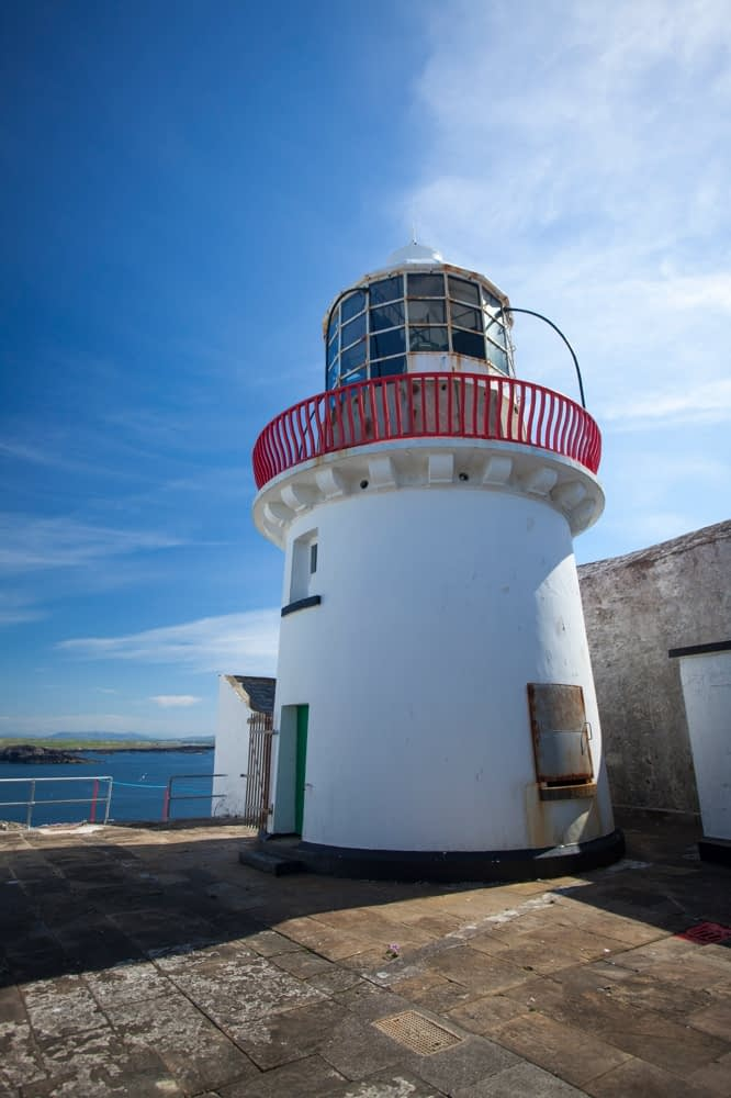 Eagle Island Lighthouse, Belmullet, County Mayo, Ireland.
