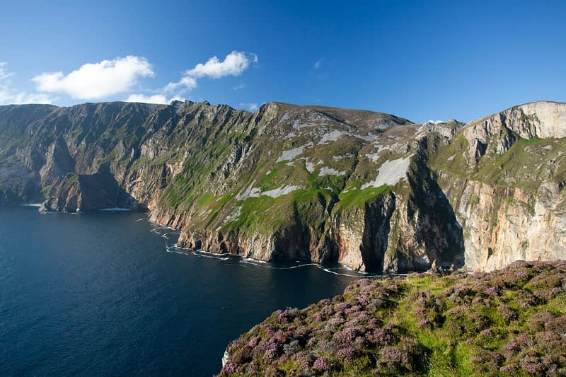 View across the Slieve League cliffs from Bunglas, County Donegal, Ireland