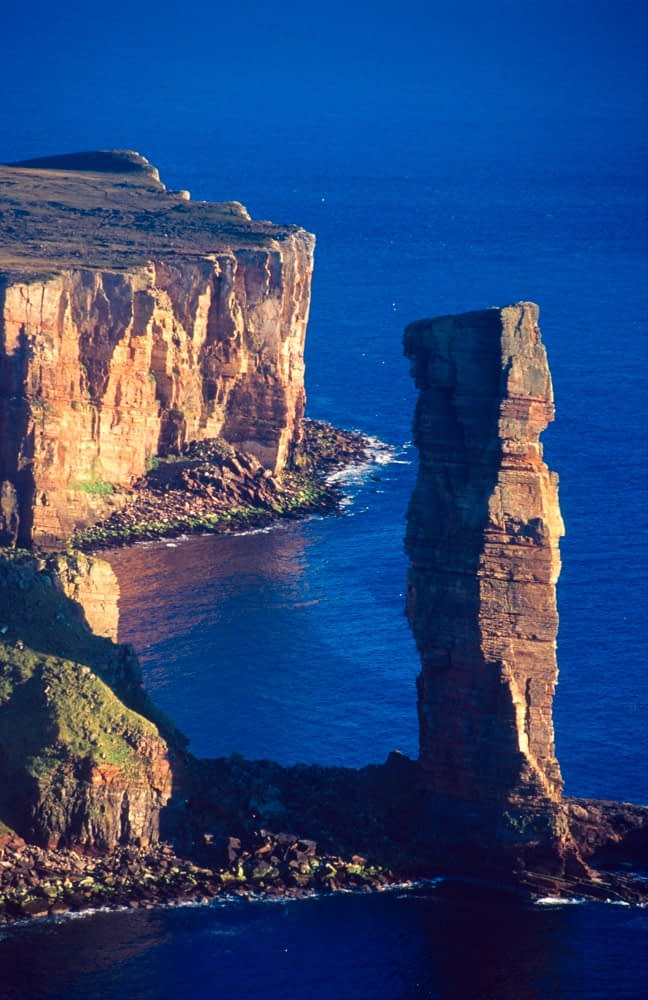The Old Man of Hoy seastack, Orkney Isles, Scotland.