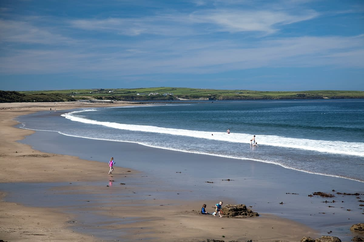 Summer at Dunmoran Strand, Co Sligo, Ireland.