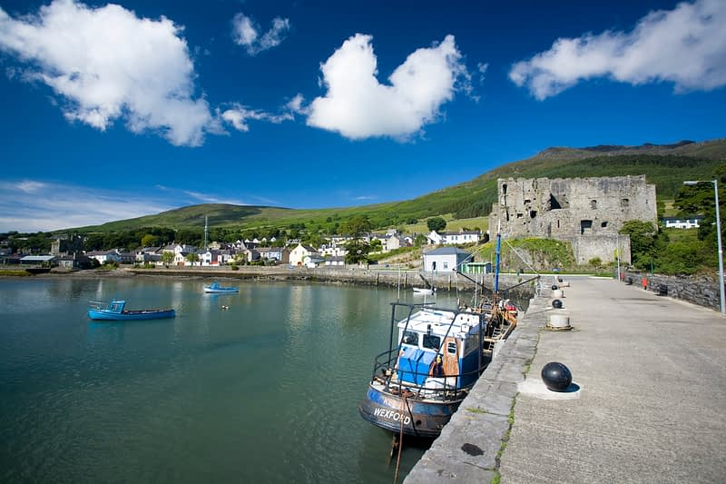 Carlingford harbour, Co Louth, Ireland.