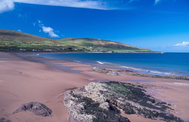 Brandon beach, Dingle Peninsula, Co Kerry, Ireland.