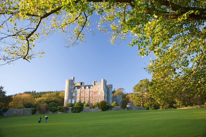 The Castle, Castlewellan Forest Park, Co Down, Northern Ireland.