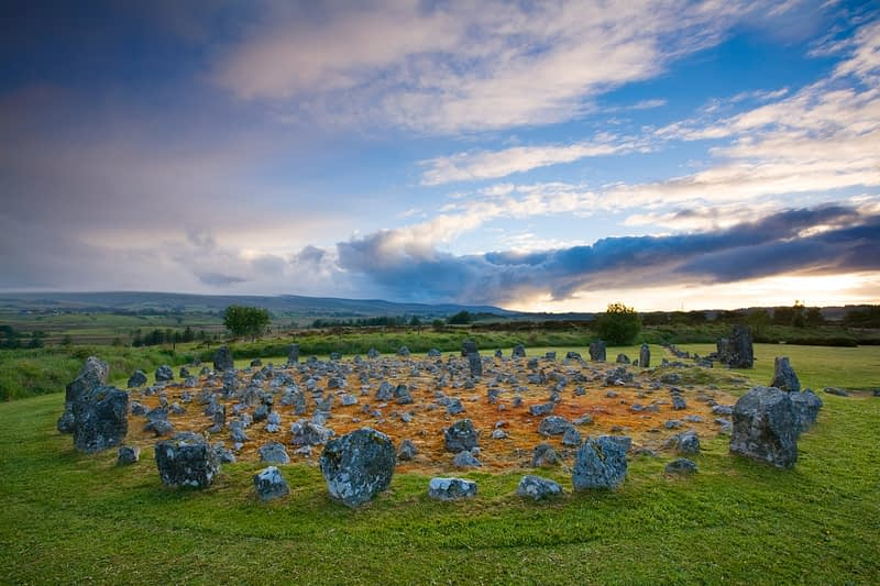 Beaghmore Stone Circles, Co Tyrone, Northern Ireland.