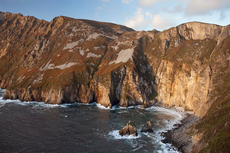 The Slieve League cliffs from Bunglass, County Donegal, Ireland.