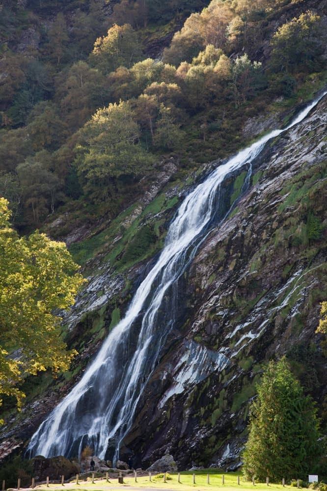 Powerscourt Waterfall, Co Wicklow, Ireland.
