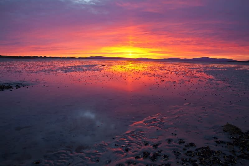 Dawn over Elly Bay, Belmullet Peninsula, Co Mayo, Ireland.