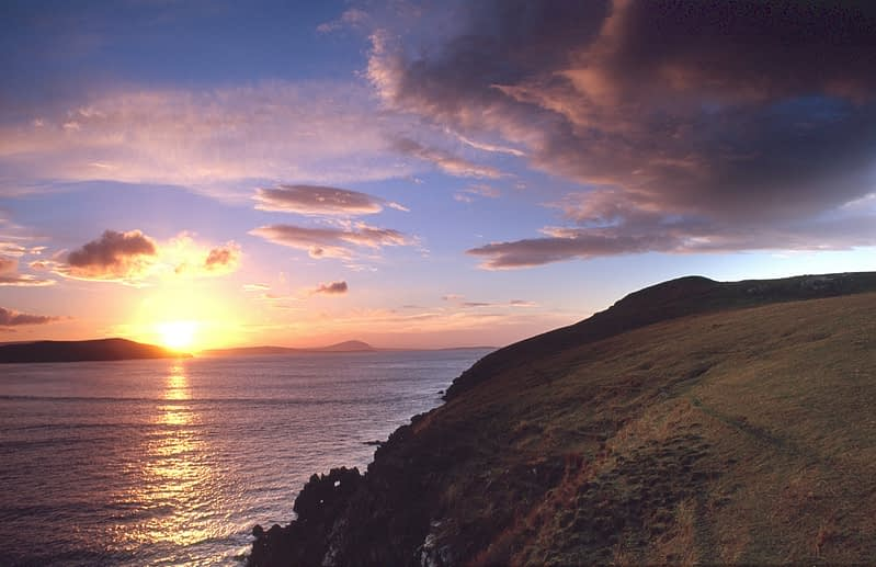 Horn Head sunset, Co Donegal, Ireland.