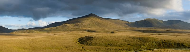 The Nephin Beg Mountains, Ballycroy National Park, Co Mayo, Ireland.