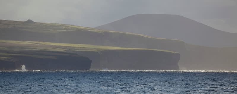 The Ceide Fields and headlands of north County Mayo, Ireland.