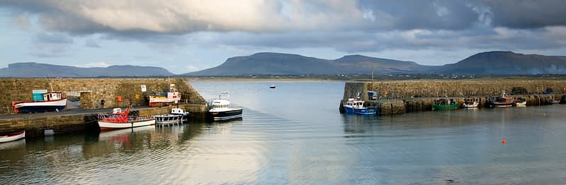 Mullaghmore Harbour, Co Sligo, Ireland.