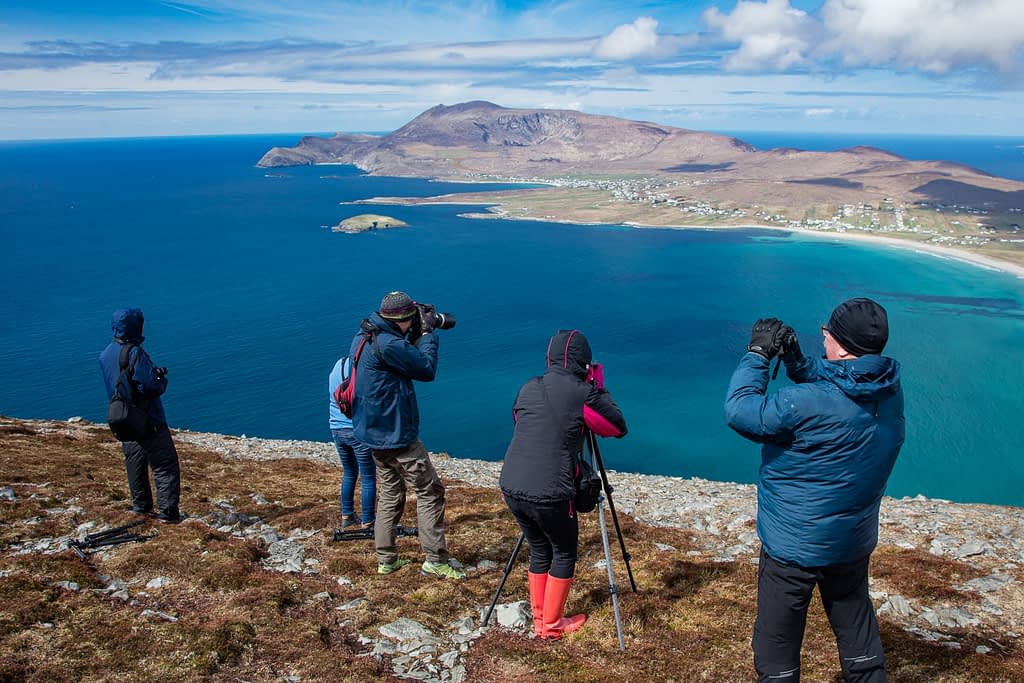 Photography group on landscape photography courses Mayo Ireland