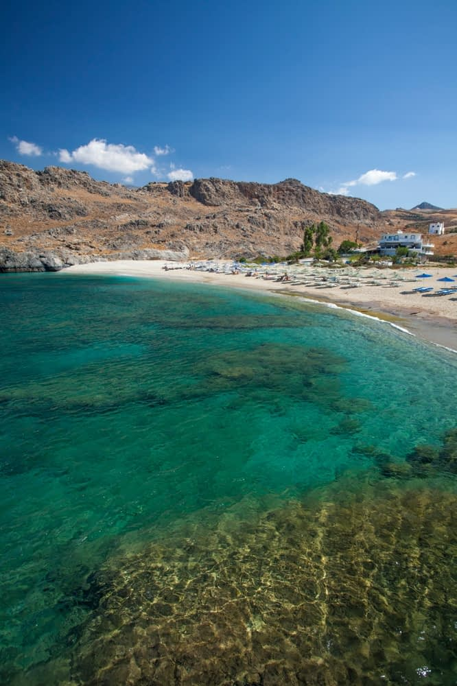 Skinaria Beach, near Plakias, Crete, Greece.