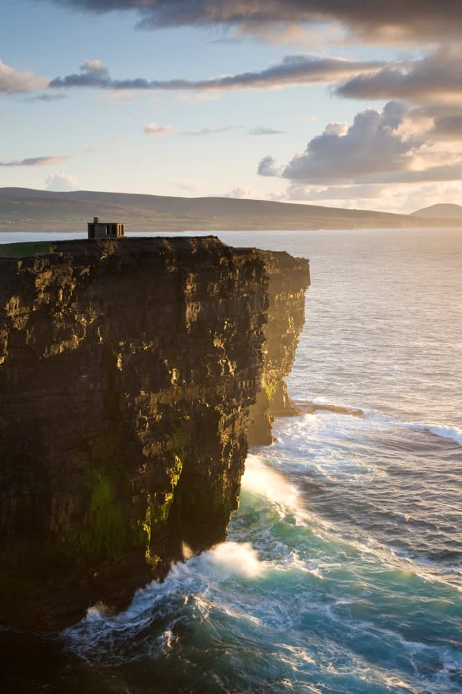 The cliffs of Downpatrick Head, Co Mayo, Ireland.