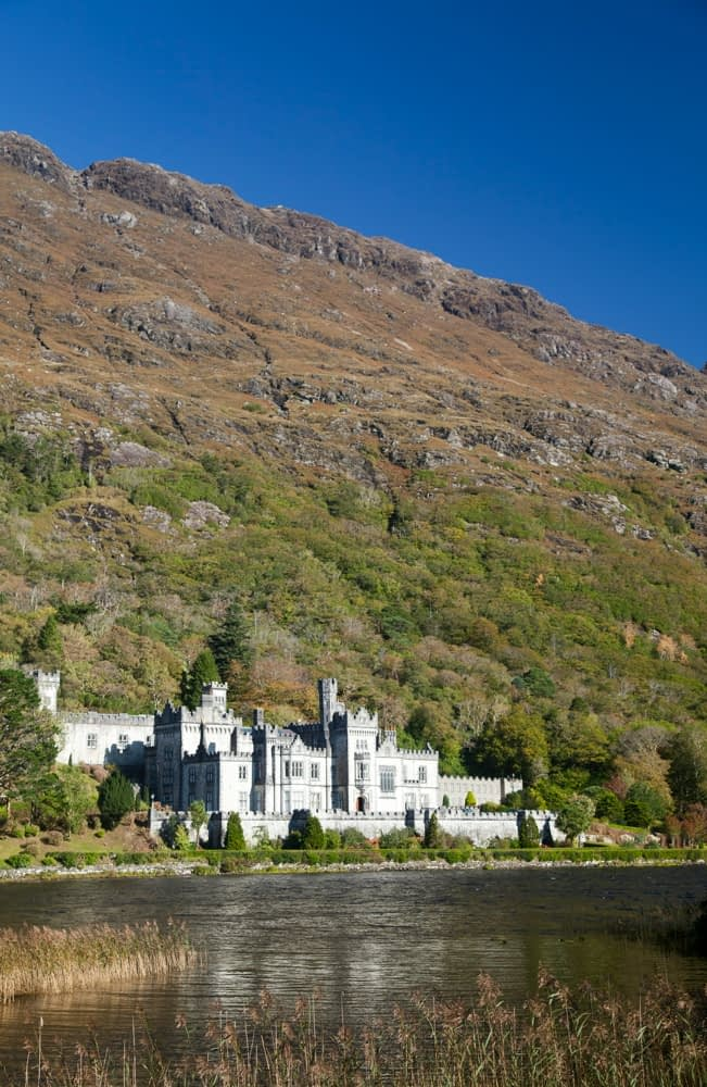 Kylemore Abbey, Connemara, Co Galway, Ireland.