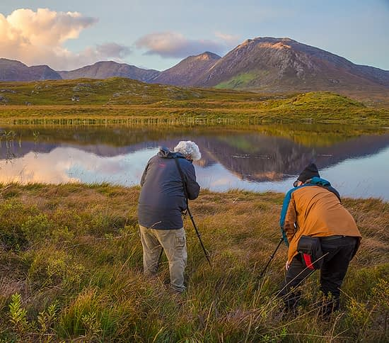 Photographers on private photography tours Ireland