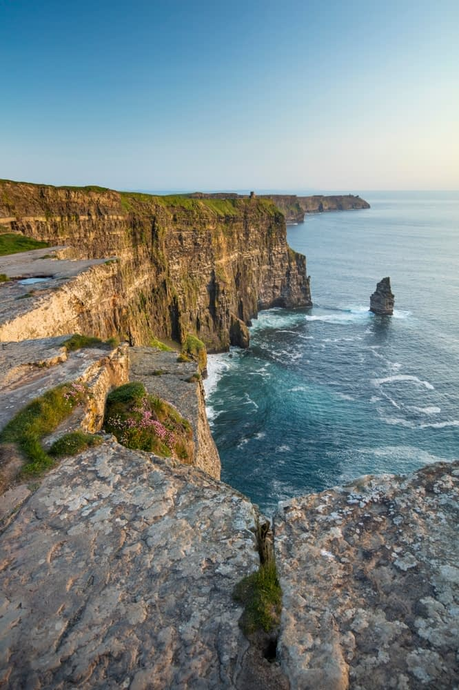 The Cliffs of Moher, County Clare, Ireland.