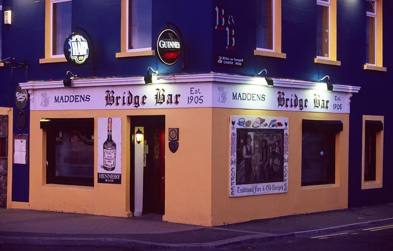 The Bridge Bar, Bundoran, Co Donegal, Ireland.