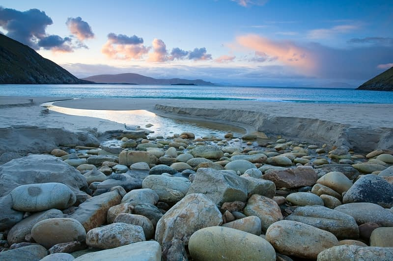 Early morning at Keem Strand, Achill Island, Co Mayo, Ireland.